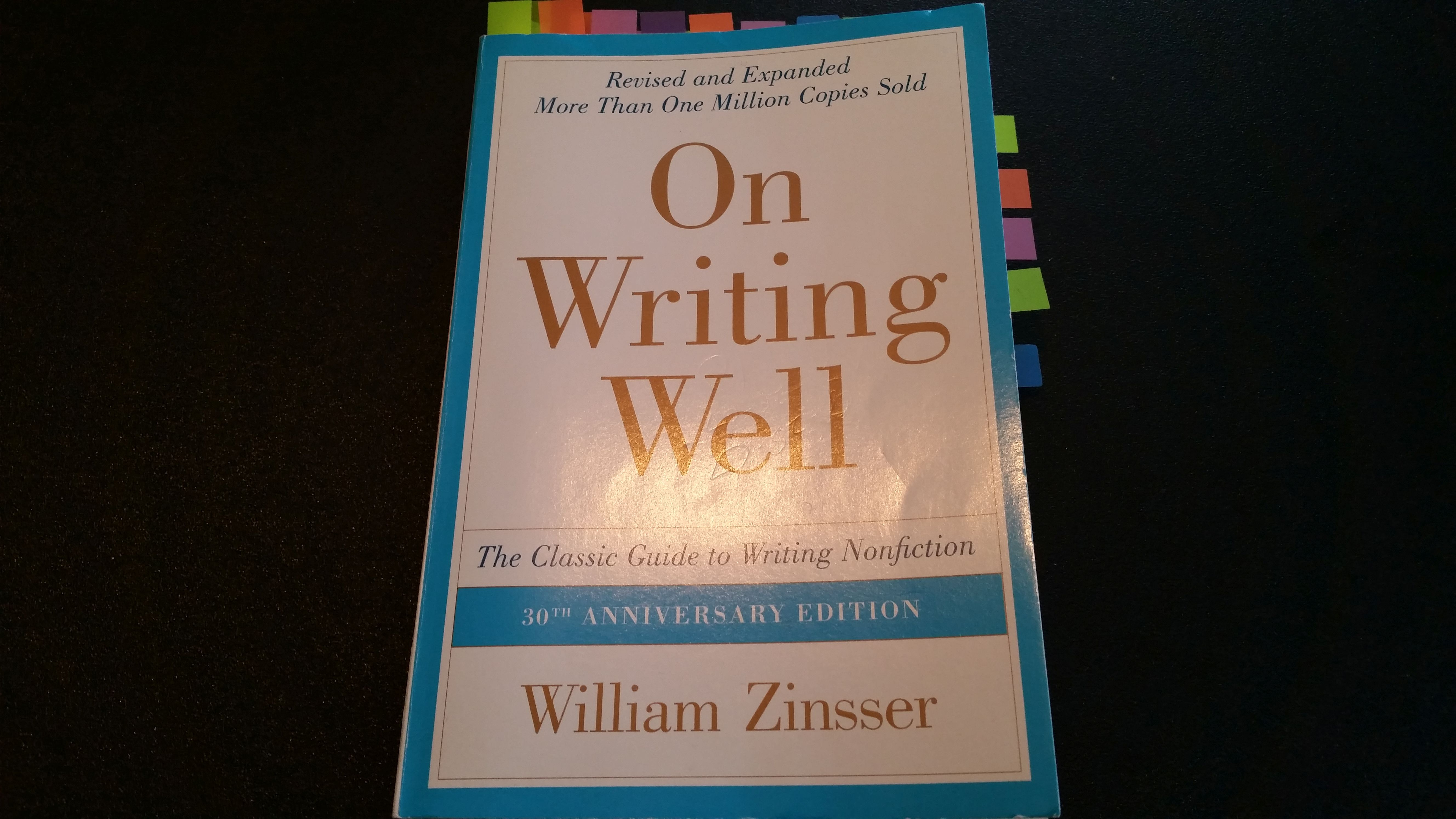 On Writing Well Chapter Summaries (Sponsored)