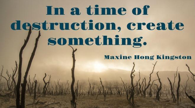 Monday Morning Quote Love Maxine Hong Kingston